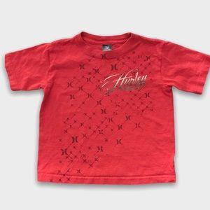 2/$15🥳 Red Hurley Short Sleeve Tshirt